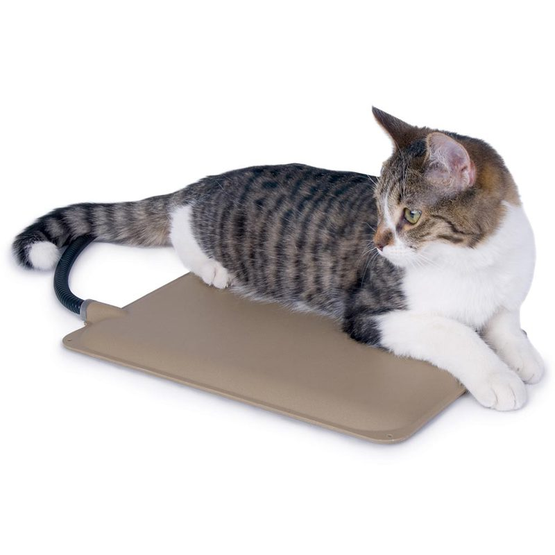 "K&H Pet Products Extreme Weather Kitty Pad Tan 9"" x 12"" x 0.5"""