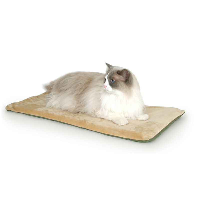 "K&H Pet Products Thermo-Kitty Mat Sage 12.5"" x 25"" x 0.5"""