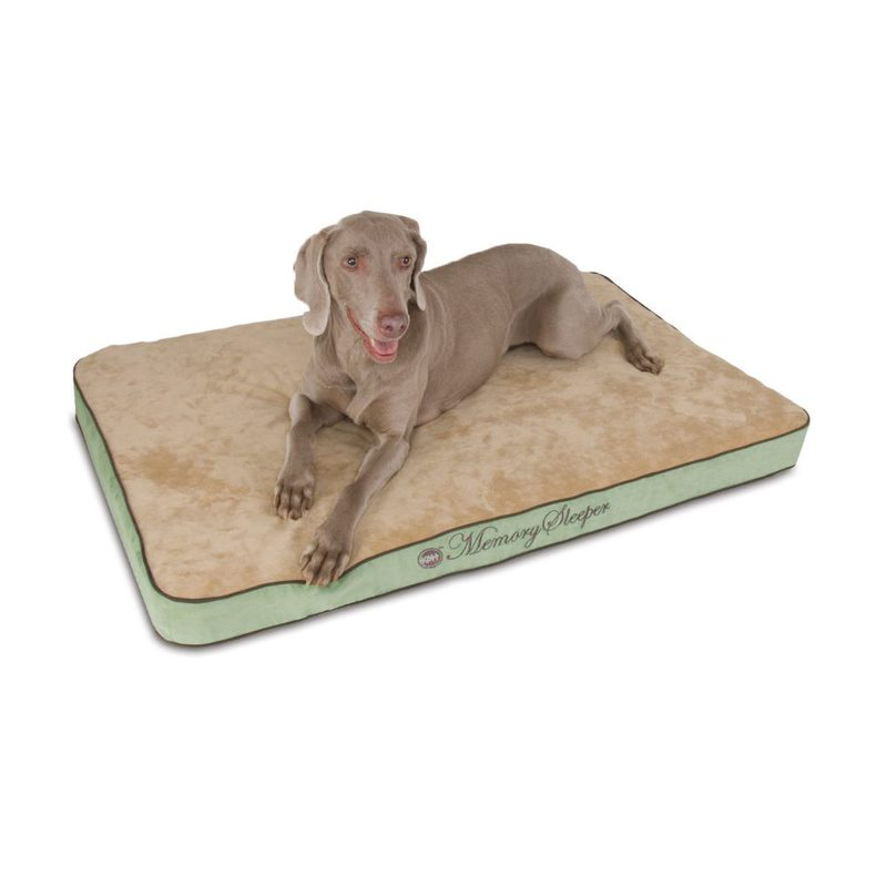 "K&H Pet Products Memory Sleeper Pet Bed Large Sage 29"" x 45"" x 3.75"""