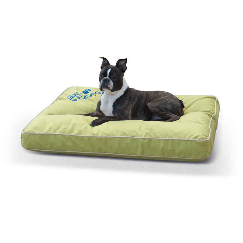 "K&H Pet Products Just Relaxin' Indoor/Outdoor Pet Bed Medium Green 28"" x 36"" x 3.5"""