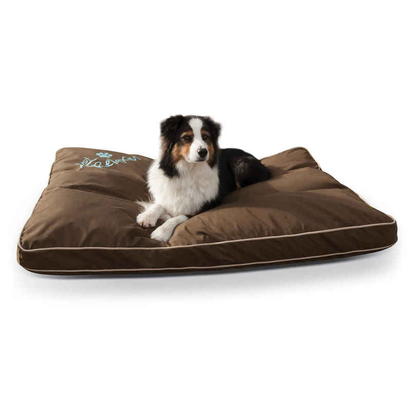 "K&H Pet Products Just Relaxin' Indoor/Outdoor Pet Bed Large Chocolate 36"" x 48"" x 3.5"""