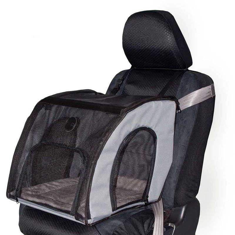 "K&H Pet Products Pet Travel Safety Carrier Large Gray 29.5"" x 22"" x 25.5"""