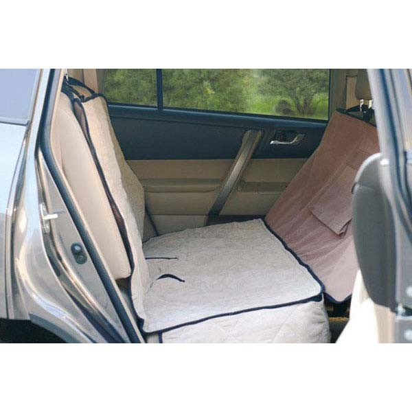 "K&H Pet Products Deluxe Car Seat Saver Tan 54"" x 58"" x 0.25"""