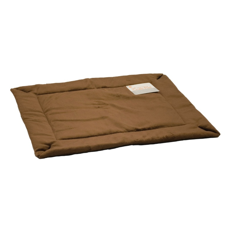 "K&H Pet Products Self-Warming Crate Pad Extra Small Mocha 14"" x 22"" x 0.5"""
