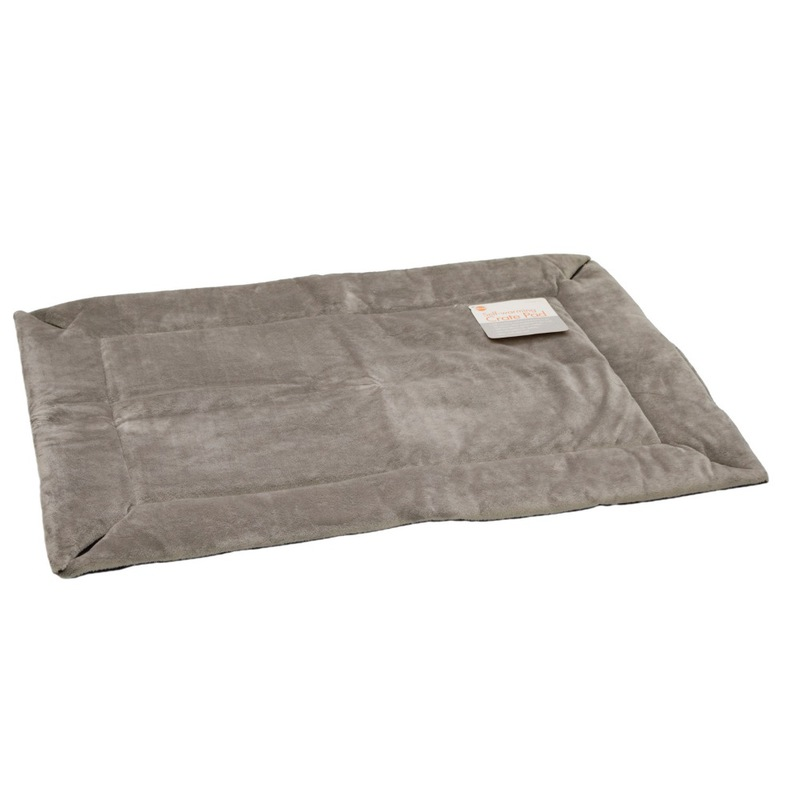"K&H Pet Products Self-Warming Crate Pad Small Gray 20"" x 25"" x 0.5"""