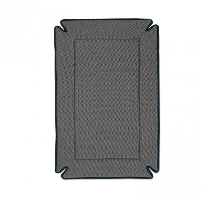 "K&H Pet Products Odor-Control Dog Crate Pad Gray 25"" x 37"" x 0.5"""