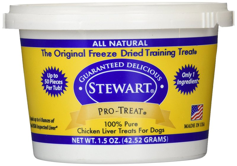 Miracle Corp Stewart Pro-Treat Freeze Dried Chicken Liver 1.5 oz.