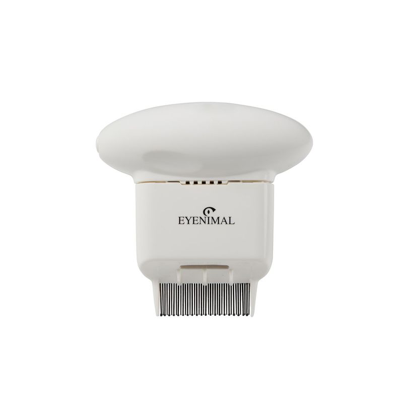 Eyenimal Pet Electronic Flea Comb White
