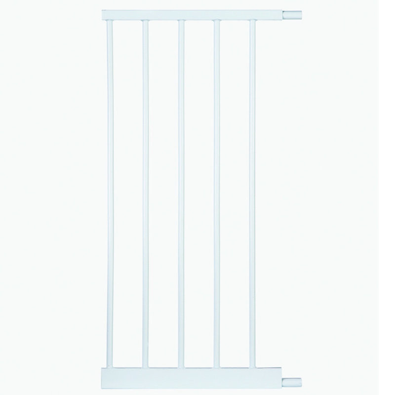 "North States Auto-Close Gate 1 Bar Extension White 14"" x 30"""