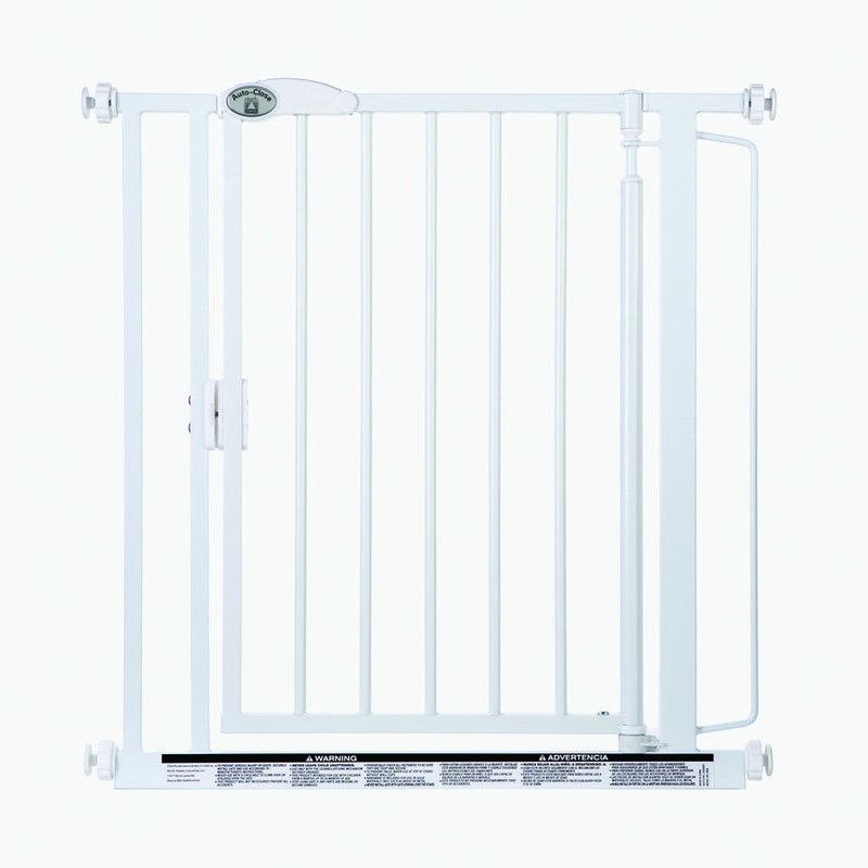 North States Auto-close Wall Mounted Pet Gate