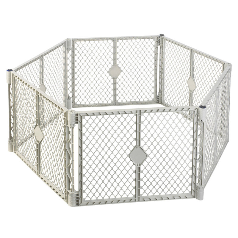 "North States Pet Superyard XT Gate 6 panels White 30"" x 26"""