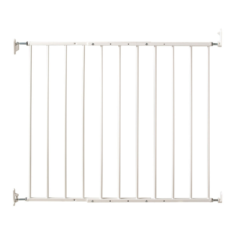 "Kidco Command Wall Mounted Pet Gate White 24.75"" - 42.5"" x 1.75"" x 31"""