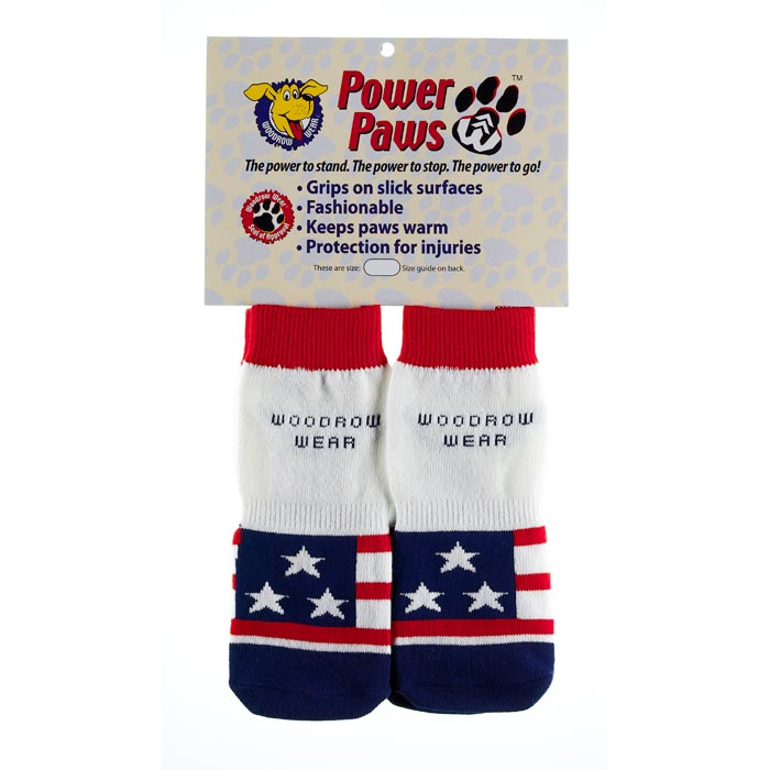 "Woodrow Wear Power Paws Advanced Small American Flag 1.75"" - 2.0"" x 1.75"" - 2.0"""