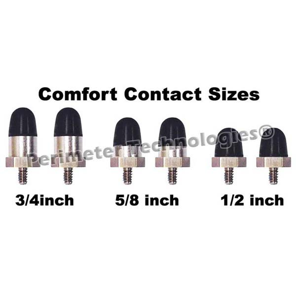 "Perimeter Technologies Comfort Contacts 5/8"" Black"
