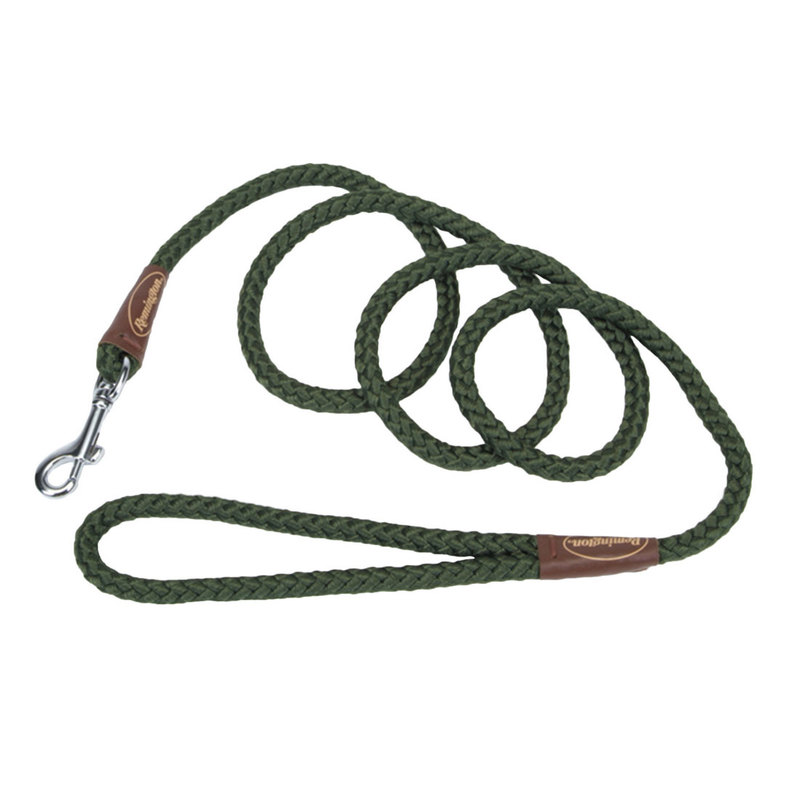 "Remington Braided Rope Dog Snap Leash 6 Feet Green 72"" x 1"" x 1"""