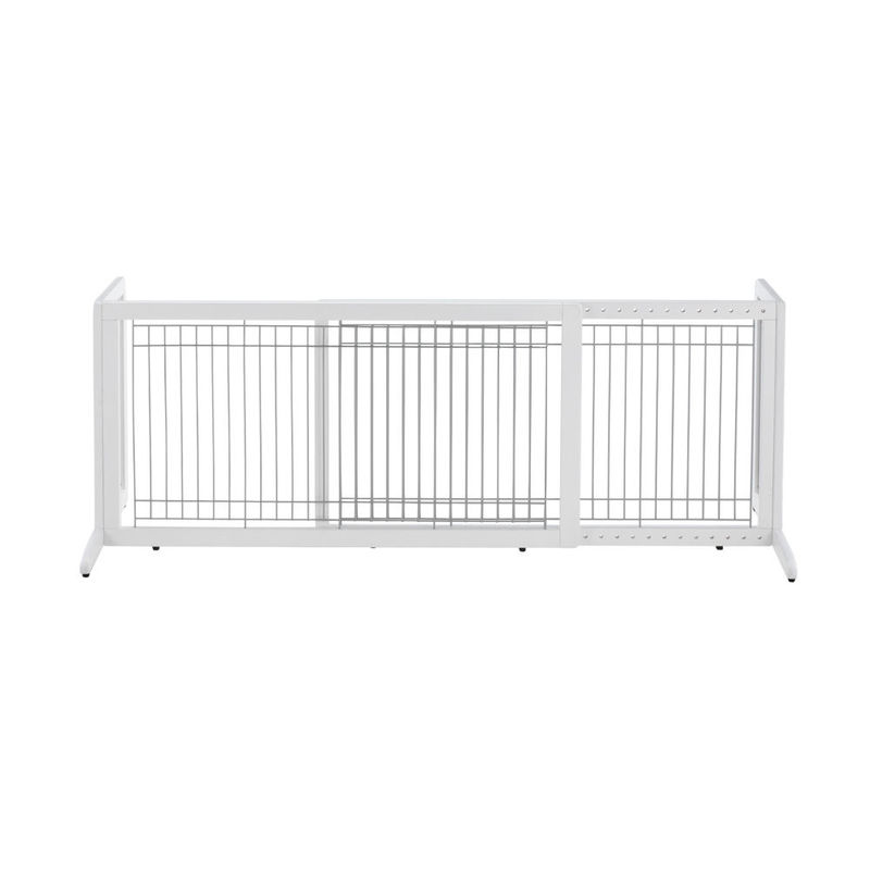 "Richell Freestanding Pet Gate HL Large White 39.8"" - 71.3"" x 17.7"" x 20.1"""