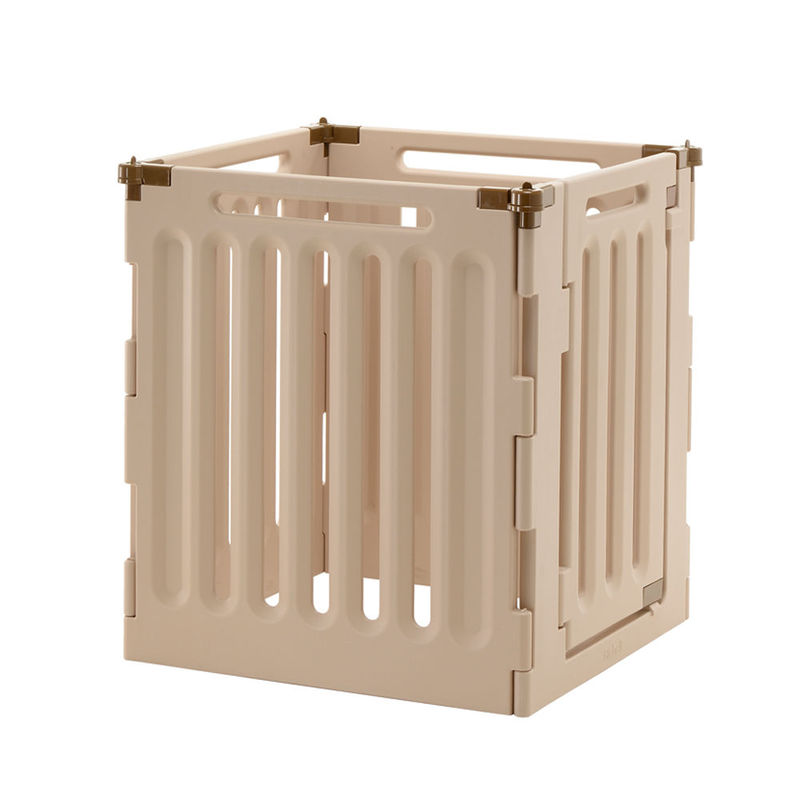 "Richell Convertible Indoor/Outdoor Pet Playpen 4 Panel Tan / Mocha 63.8"" x 33.1"" x 36"""