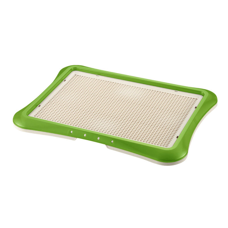 "Richell Paw Trax Mesh Training Tray Green 25.2"" x 18.9"" x 1.6"""