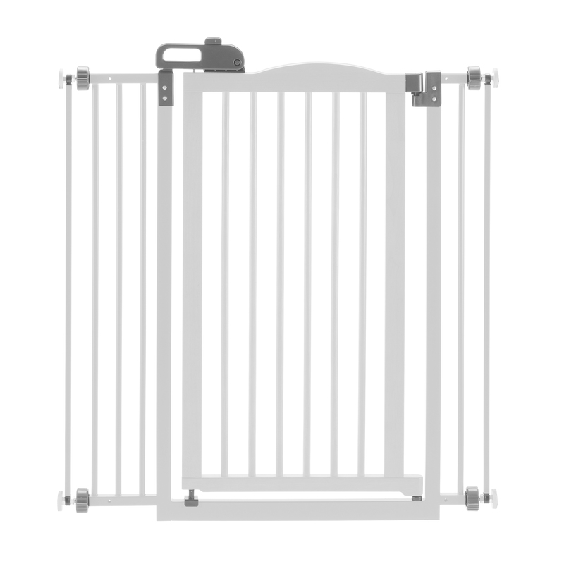 "Richell Tall One-Touch Pressure Mounted Pet Gate II White 32.1"" - 36.4"" x 2"" x 38.4"""