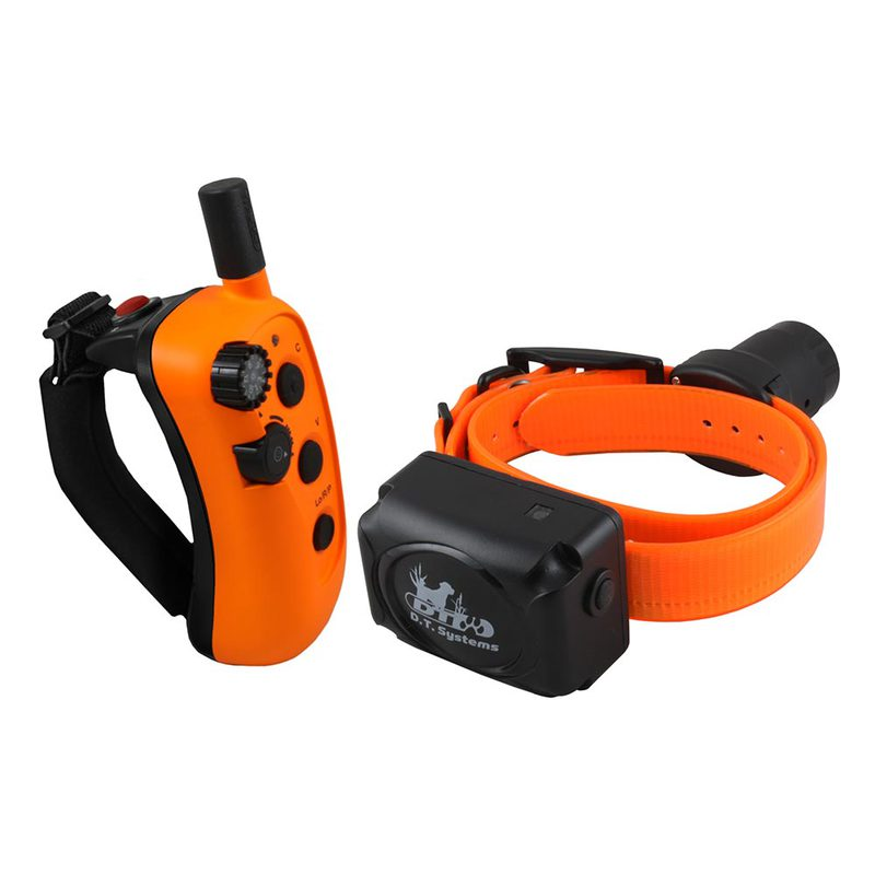 D.T. Systems R.A.P.T. 1450 Upland Beeper Expandable Remote Dog Trainer Orange