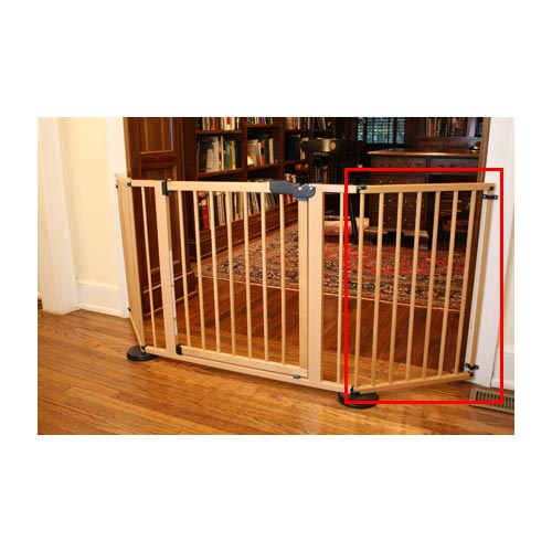"Cardinal Gates VersaGate Hardware Mounted Pet Gate Extension Wood 20"" x 30.5"""