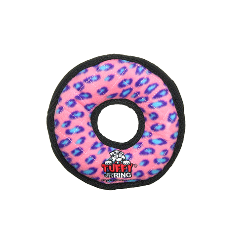 Tuffy Jr Ring: Pink Leopard