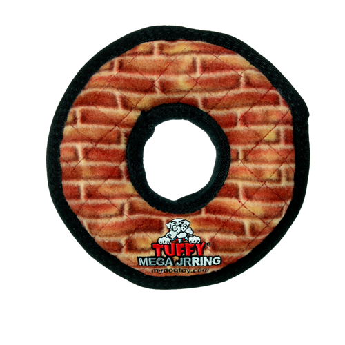 Tuffy Mega Jr. Ring: Brick Print