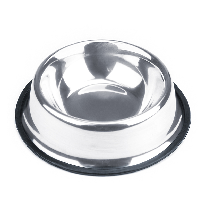 8oz. Stainless Steel Dog Bowl