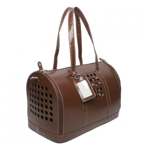 Bark N Bag Carrier One Brown