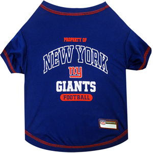 New York Giants Pet Shirt XS