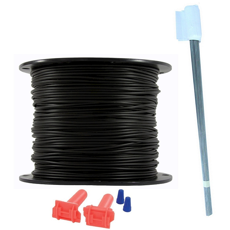 Essential Pet Heavy Duty Boundary Kit - 18 Gauge Wire/1000 Ft