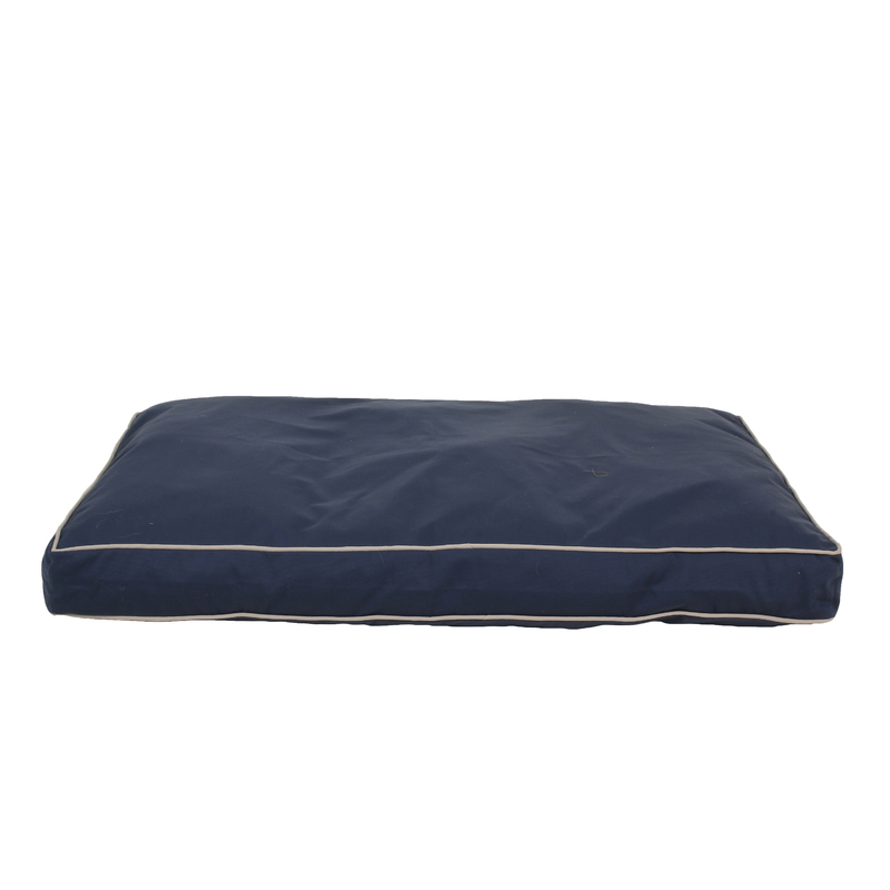 "Carolina Pet Products CLASSIC TWILL RECTANGLE ""JAMISON"": Blue"