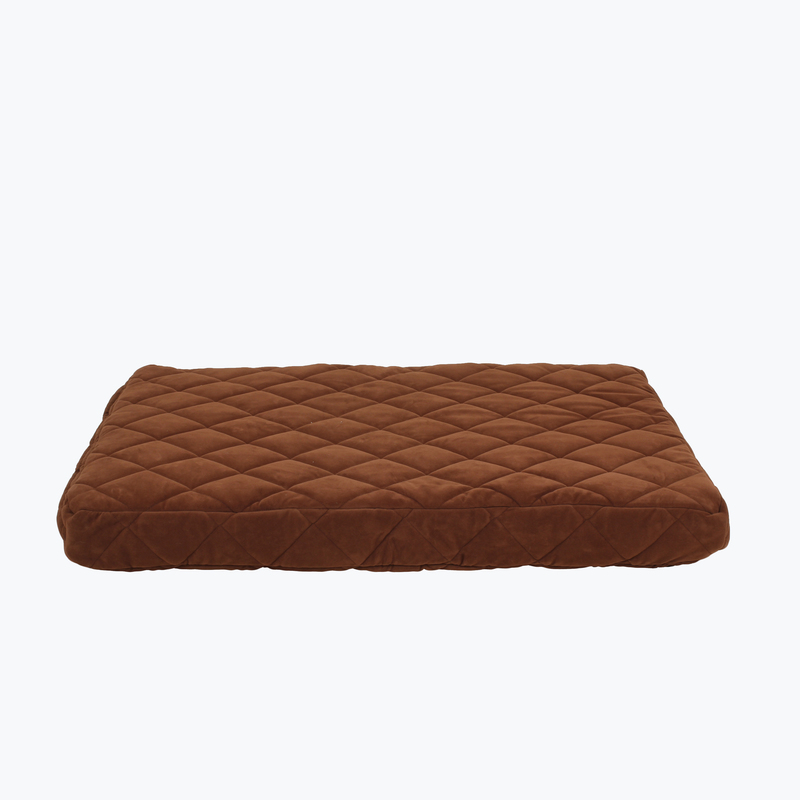 Carolina Pet Products PROTECTOR™ PAD QUILTED ORTHOPEDIC JAMISON: Chocolate