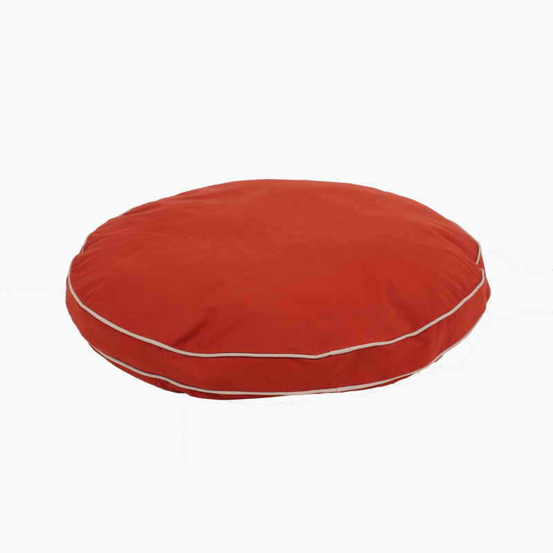 "Carolina Pet Products CLASSIC COTTON CANVAS ""ROUND-A-BOUT"": Red"