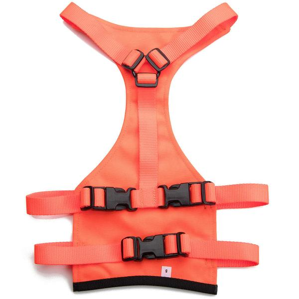 Mendota Pet Skid Plate: Orange, Medium
