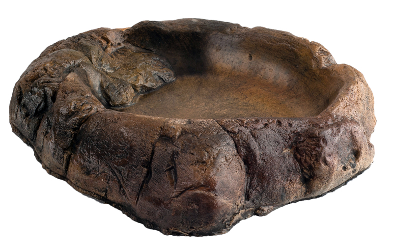 Jungle Bob Water Bowl: Medium, Stone