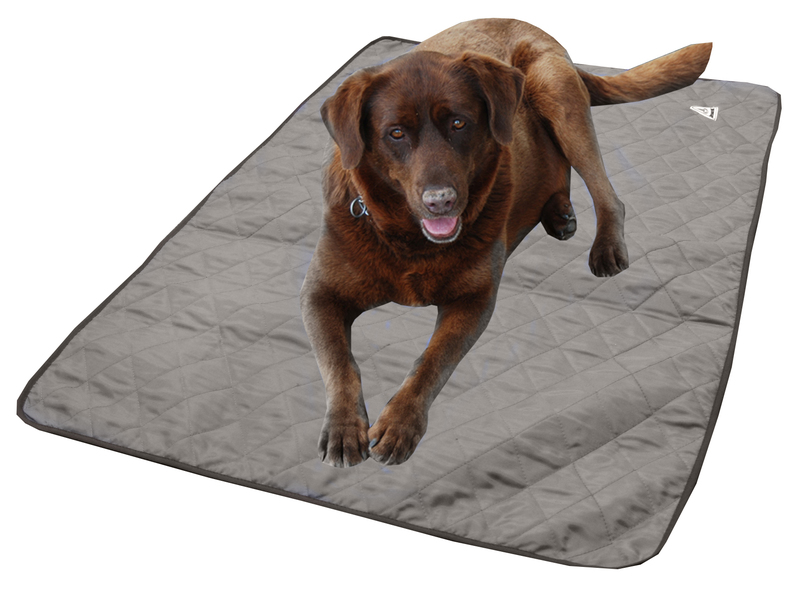 HyperKewl Evaporative Cooling Dog Pad: Silver, XS