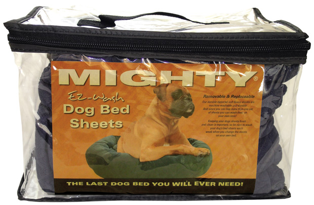 Mighty Beds: Blue Sheet, 60""