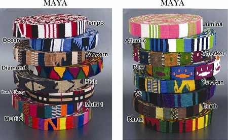 Color Pet™ Maya Custom Personalized Atlantic Collar: Medium