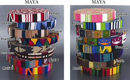 Color Pet™ Maya Custom Personalized Tempo Collar: Medium Wide