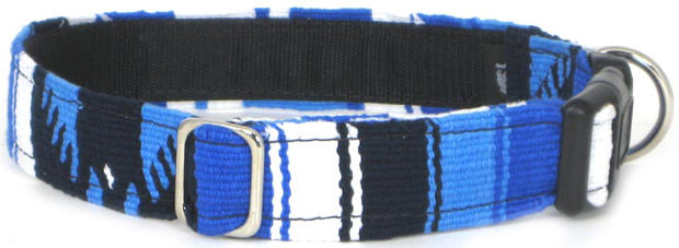 Color Pet™ Maya Custom Personalized Ocean Collar: Extra Large