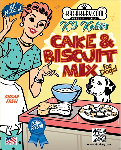 K9 Cakery Cake and Biscuit Mix: Sugar Free, 11 oz.