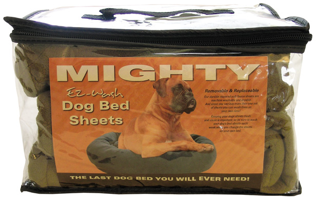 Mighty Beds: Green Sheet, Large