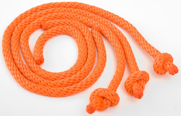 Mendota Training Dummy Throw Ropes: Orange