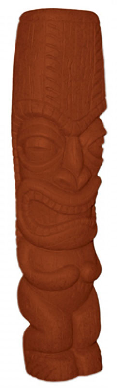 Squeeki Tiki™ Brown: Small