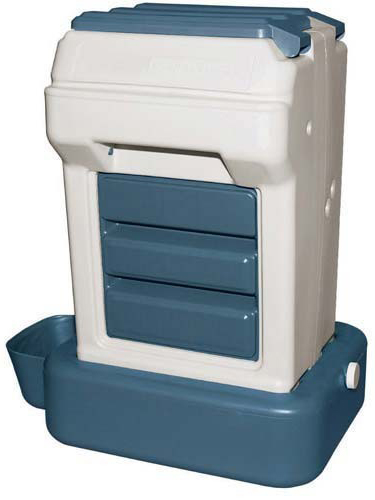 Bergan K-9 Cafe Tray Pack Pet Food Dispenser