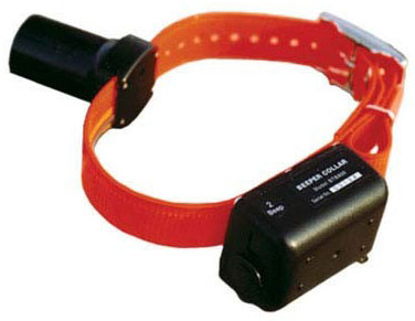 D.T. Systems Baritone Dog Beeper Collar Orange