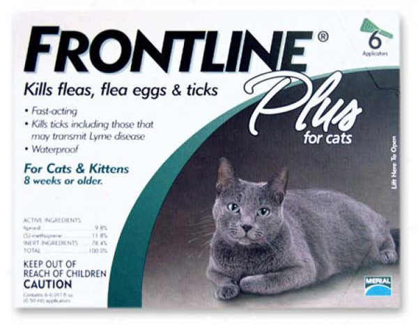 Frontline Flea Control Plus for All Cats And Kittens: 6 Month Supply