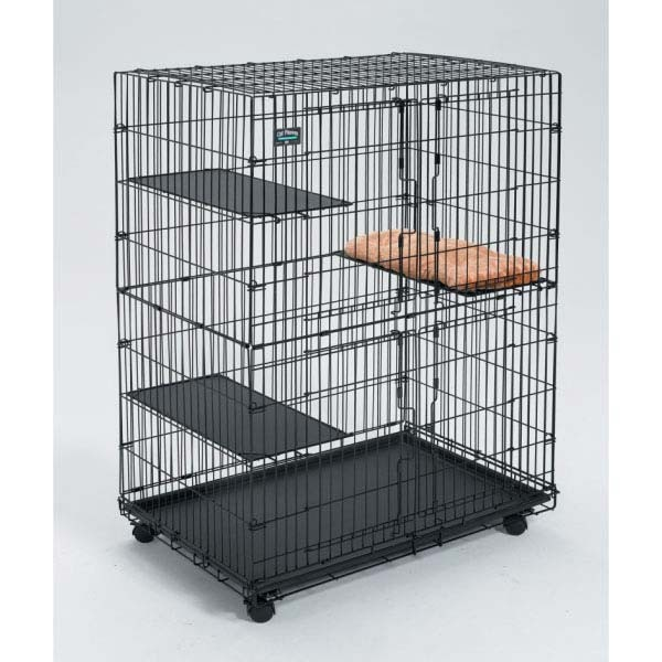 "Midwest Cat Playpen Plus Pet Bed: 21"" x 10.5"""