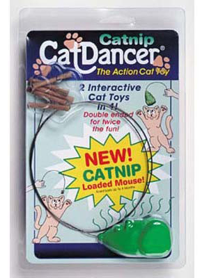 CatDancer Catnip Cat Dancer Toy